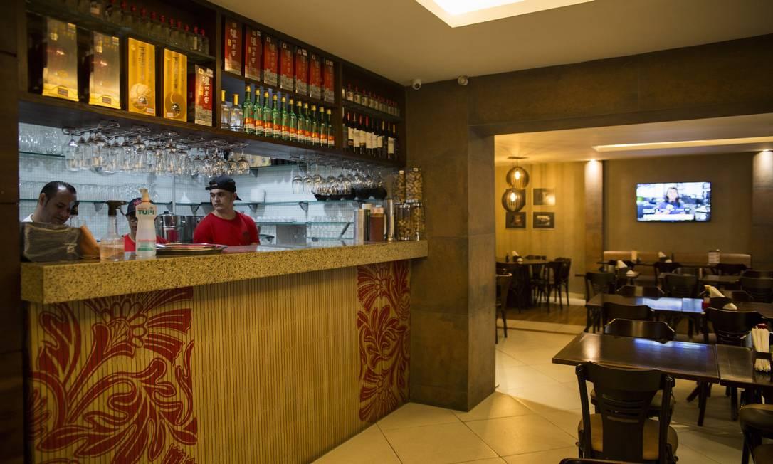 Restaurante China Town, na Tijuca Foto: Agência O Globo