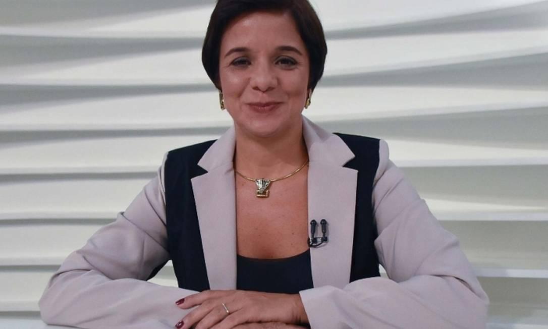 A jornalista Vera Magalhães, apresentadora do 'Roda Viva' e uma das autoras do blog BRPolítico Foto: Divulgação