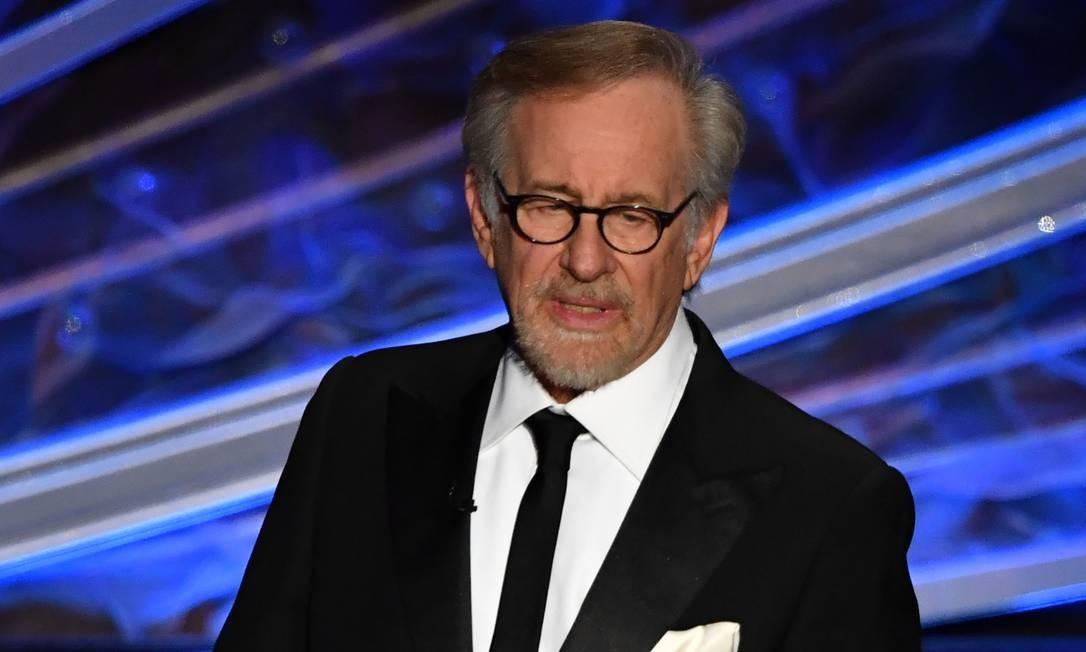 Steven Spielberg no Oscar 2020: diretor quis passar o bastão de 'Indiana Jones' para nova geração Foto: MARK RALSTON / AFP