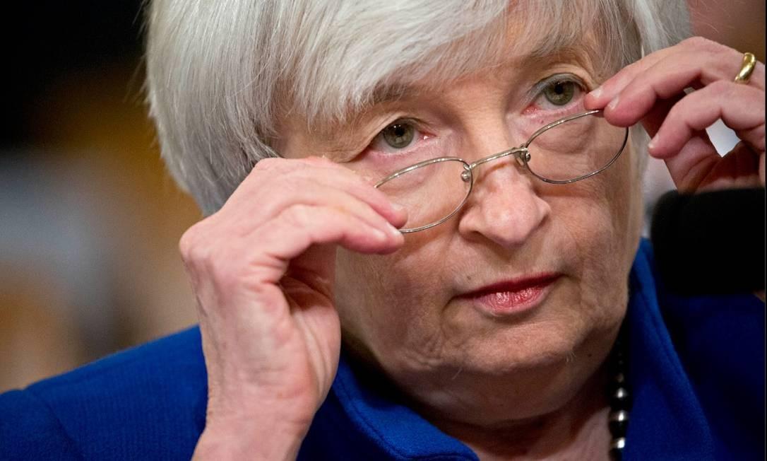 A ex-presidente de Federal Reserve, Janet Yellen Foto: Bloomberg