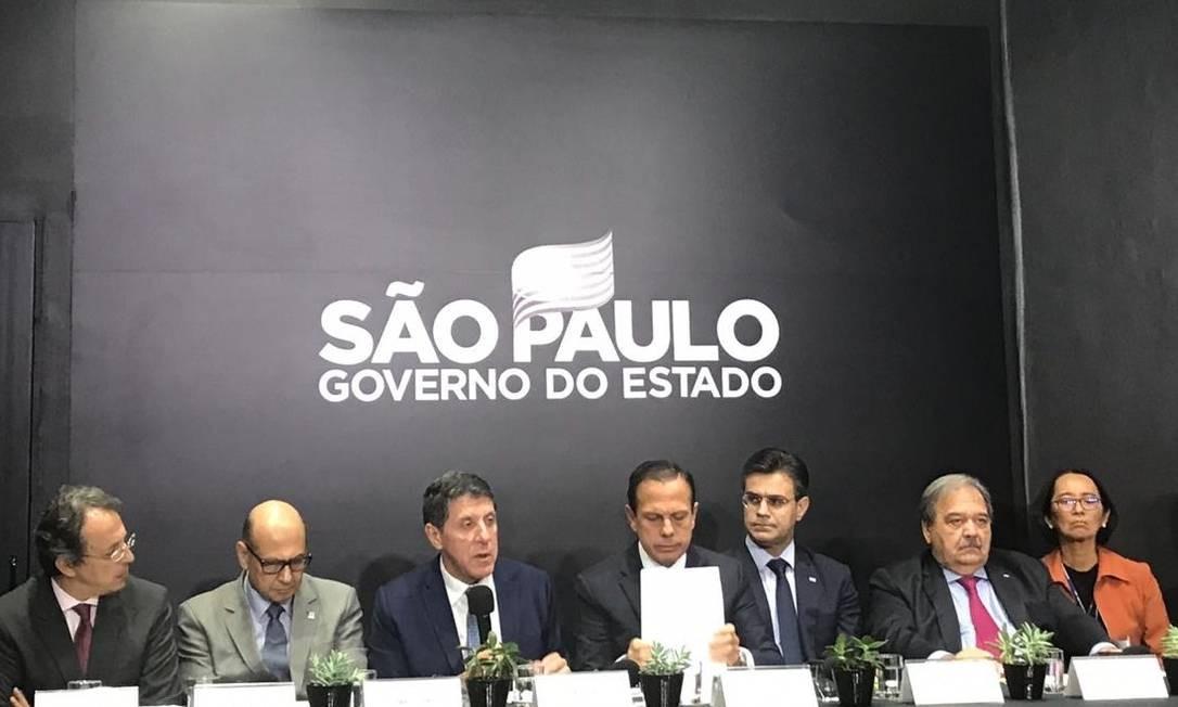 São Paulo terá nova verba de R$ 30 milhões para ações contra a doença, anunciou o governo do estado em entrevista coletiva nesta sexta. Foto: Ana Letícia Leão/Agência O Globo