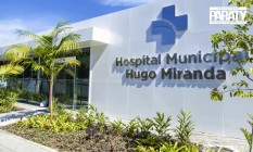 Hospital Municipal Hugo Miranda, em Paraty, onde franceses estão internados compulsoriamente Foto: divulgação