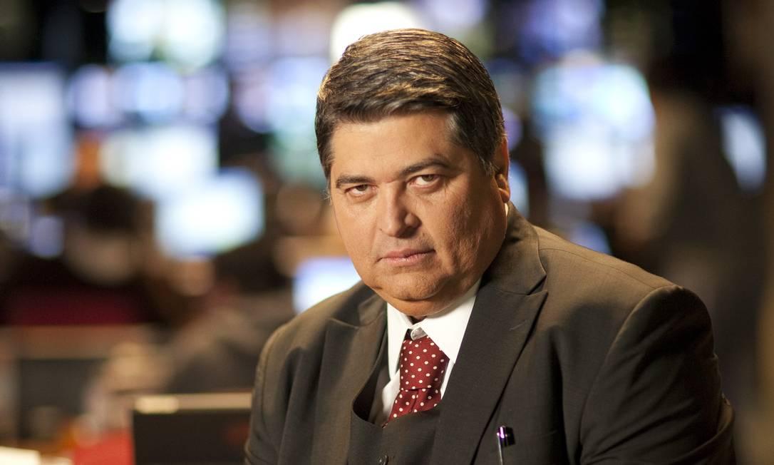 O apresentador de TV José Luiz Datena Foto: Divulgação/Band