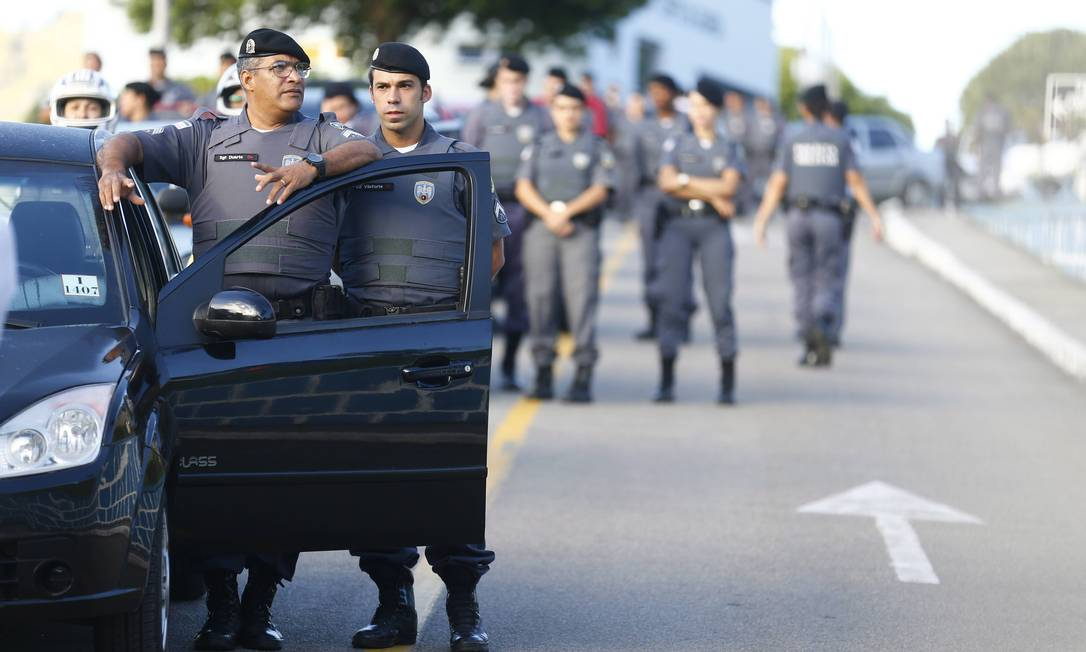 Espírito Santo. Policiais militares cruzaram os braços por 20 dias em 2017; 215 pessoas foram mortas no período Foto: Pablo Jacob / Agência O Globo