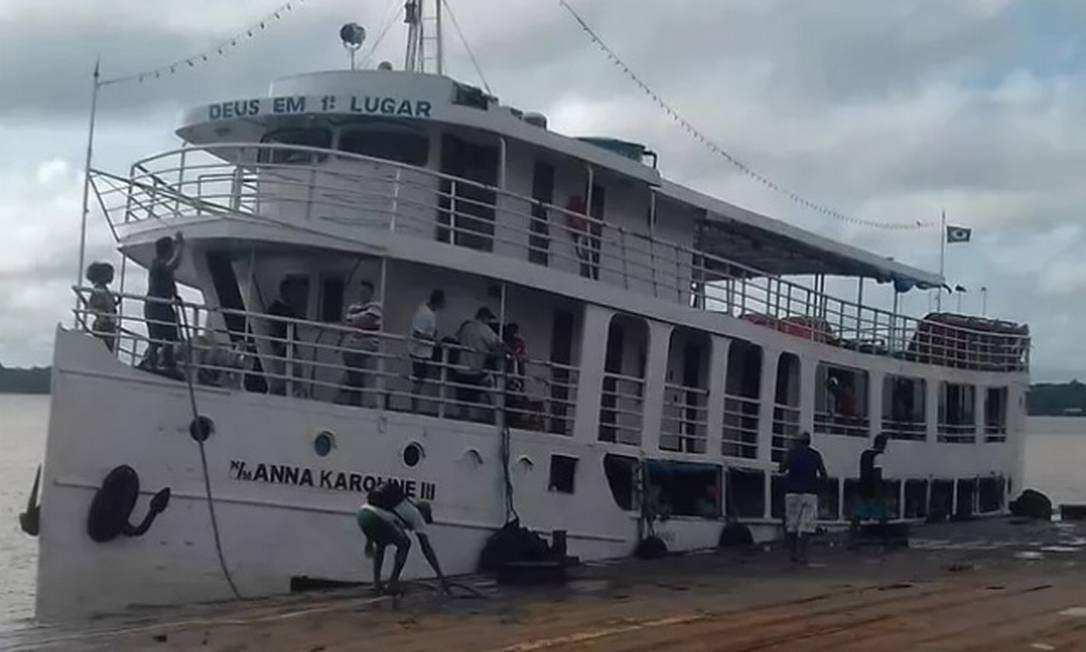 Resultado de imagem para naufrágio no Sul do Amapá