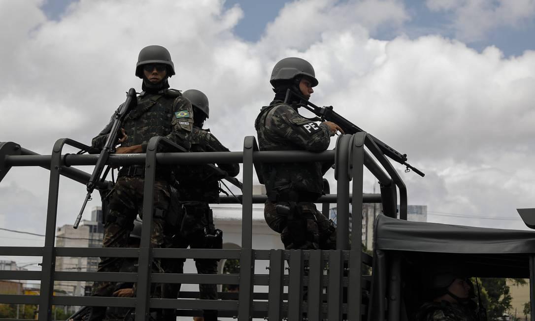 """Ministério da Defesa justifica que militares estão """"na linha de frente"""" no combate à pandemia Foto: Jarbas Oliveira"""