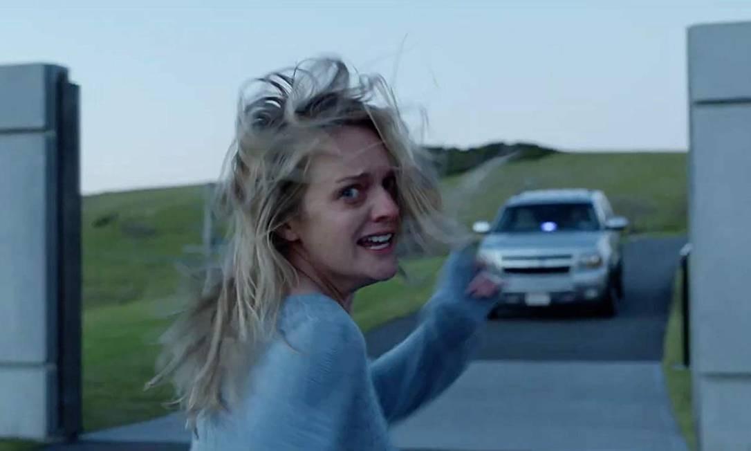 Elisabeth Moss em cena do filme 'O homem invisível' Foto: Divulgação