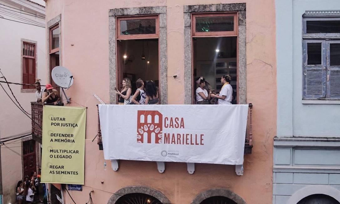'Casa Marielle' terá exposição com a vida da vereadora assassinada ao lado do motorista Anderson Gomes Foto: Mayara Donária / Divulgação