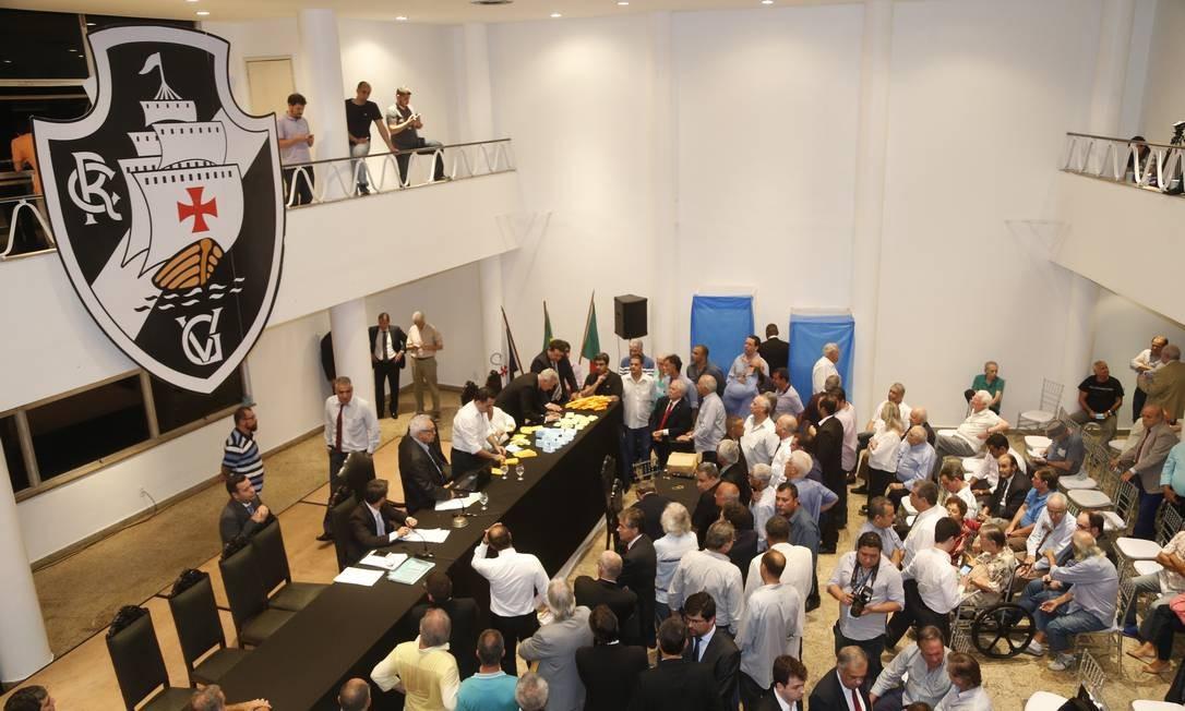 Reunião do Conselho Deliberativo do Vasco tratará de últimos pontos do estatuto Foto: Antonio Scorza / Antonio Scorza