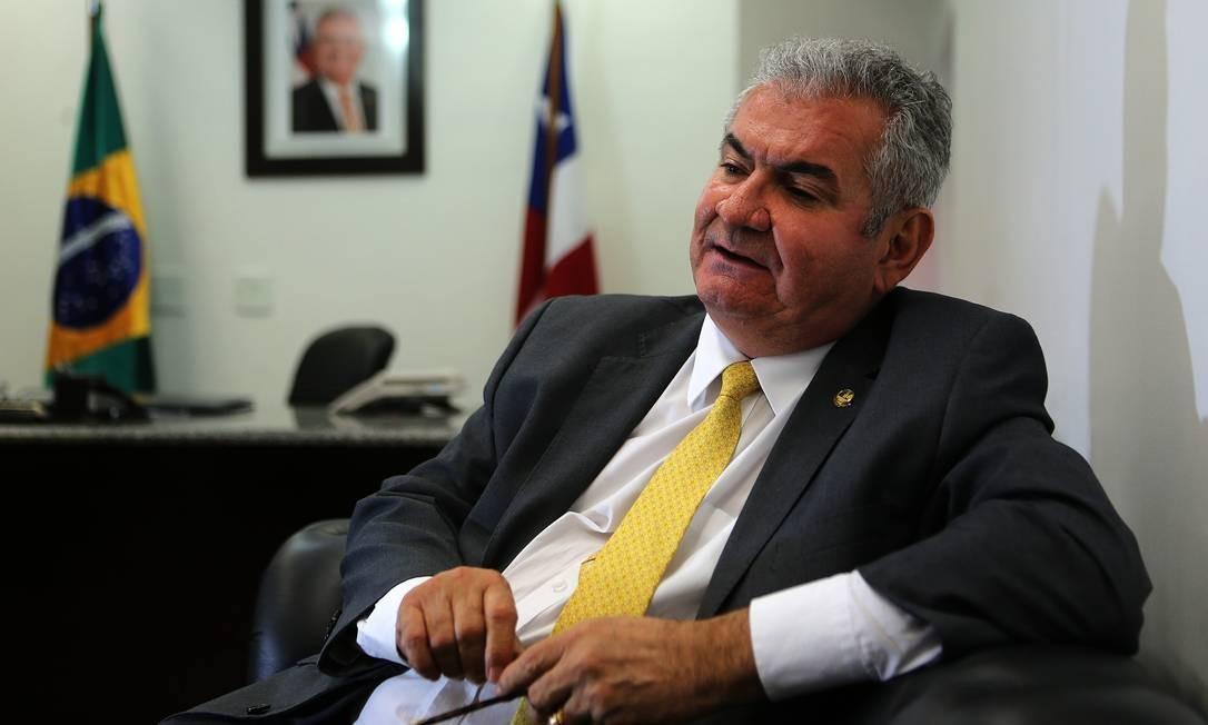Senador Angelo Coronel no dia 25 de setembro de 2019. Foto: Jorge William / Agência O Globo