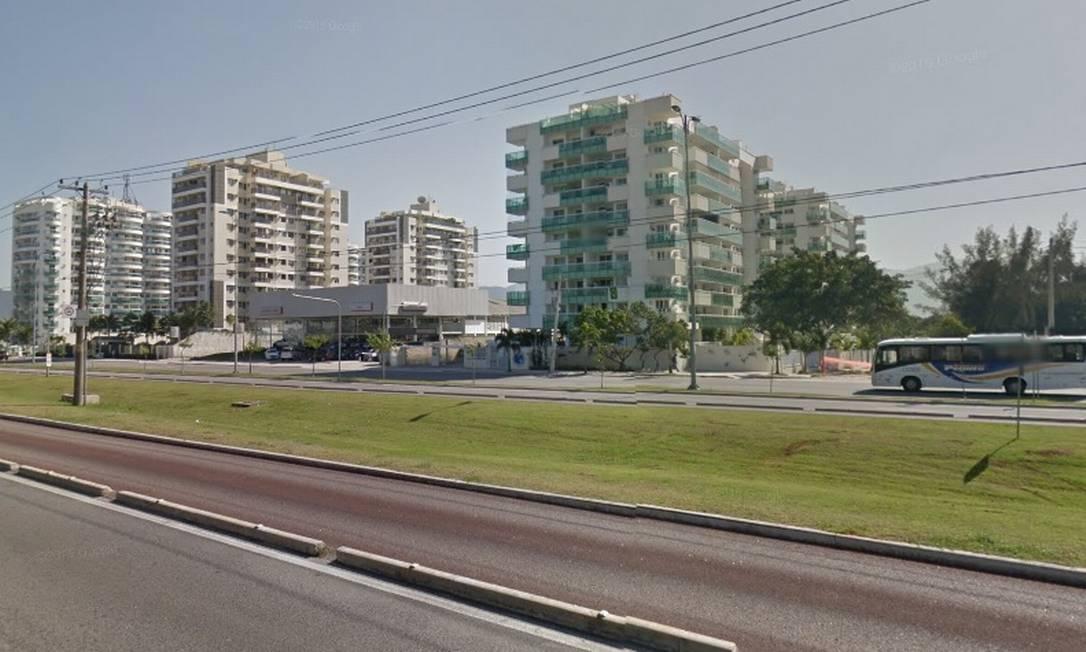 Crime aconteceu na Avenida das Américas Foto: Reprodução