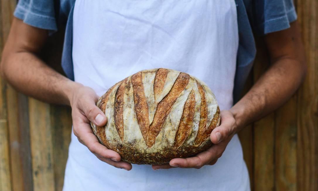 Nova Araucária, de pães de fermentação natural, em Botafogo Foto: Divulgação/Luiza Chataignier