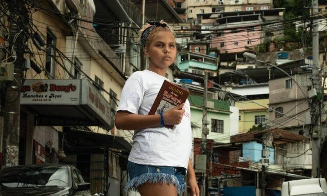 Lua Oliveira mora na Ladeira dos Tabajaras Foto: Brenno Carvalho / Agência O Globo