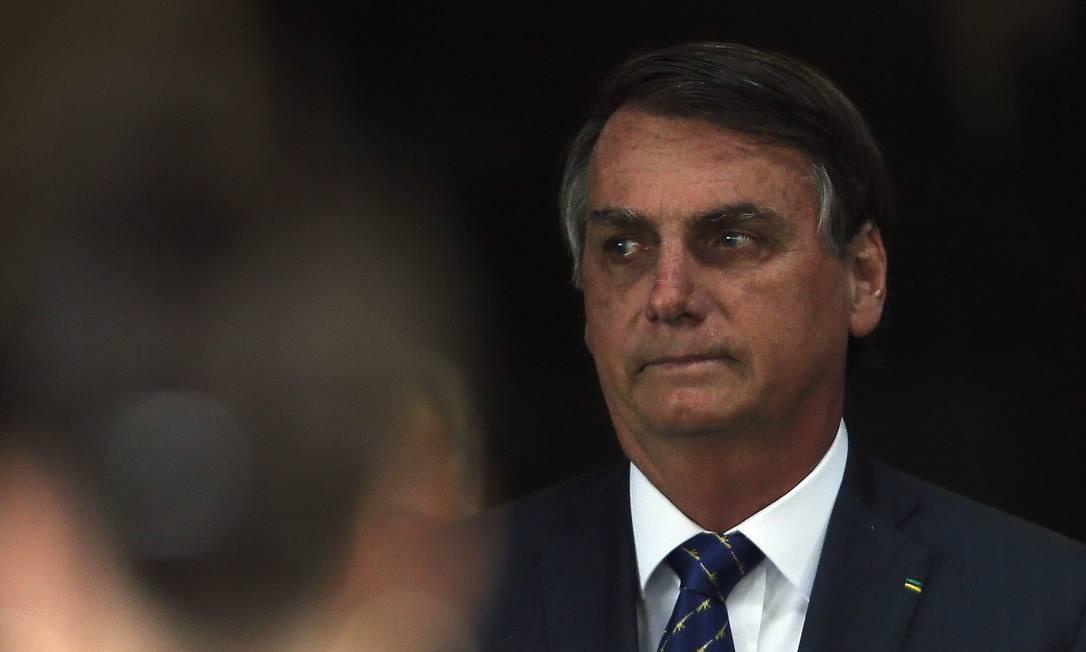 O presidente Jair Bolsonaro foi responsável por 58% dos ataques à imprensa registrados por levantamento da Fenaj Foto: Jorge William / Agência O Globo