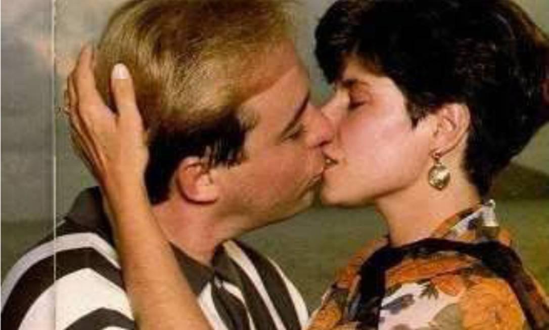 Gugu Liberato e Rose Miriam em foto de arquivo pessoal Foto: Arquivo Pessoal / Rose Miriam