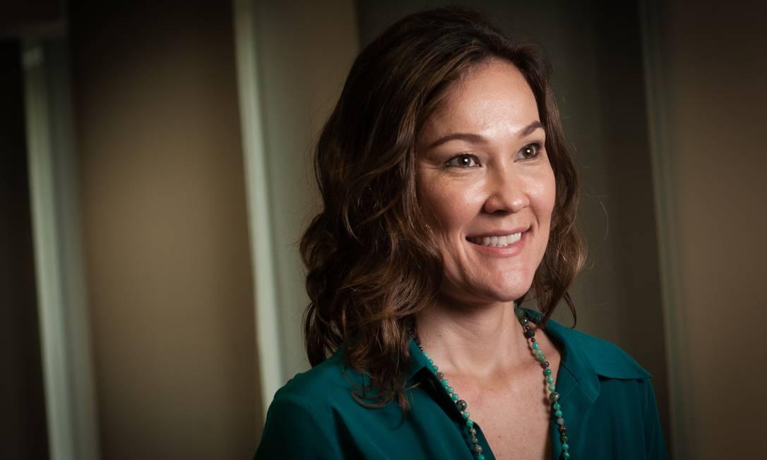 Cassiana Fernandez é a economista-chefe para Brasil do banco americano J.P. Morgan Foto: Ana Paula Paiva / Agência O Globo