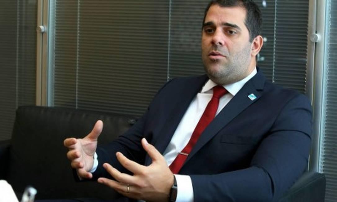 O secretário de Desenvolvimento Econômico do Rio, Lucas Tristão Foto: Philippe Lima/Divulgação/governo do Rio