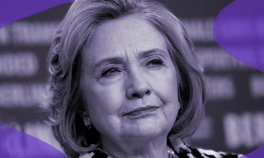 """Hillary Clinton no Festival de Cinema de Berlim, onde foi divulgar a série documental """"Hillary"""" sobre sua trajetória pessoal e política Foto: David Gannon / AFP"""