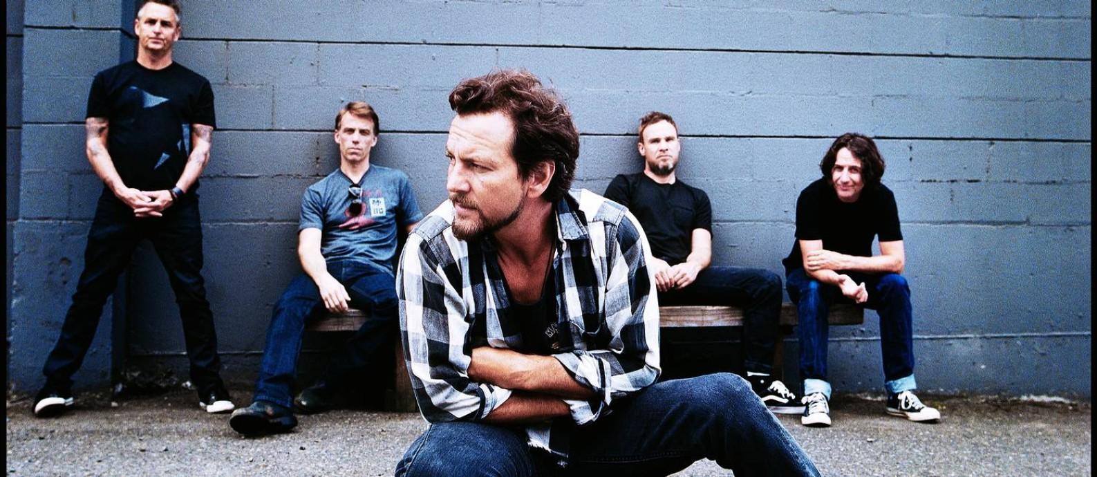 O grupo americano Pearl Jam Foto: Divulgação