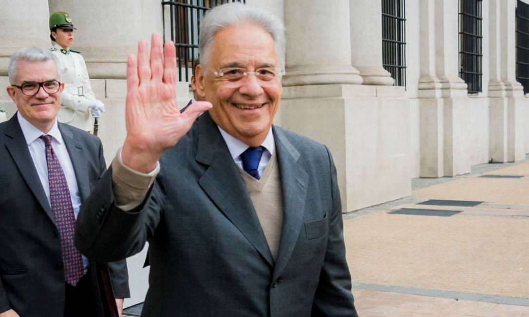 O ex-presidente Fernando Henrique Cardoso Foto: Getty Images