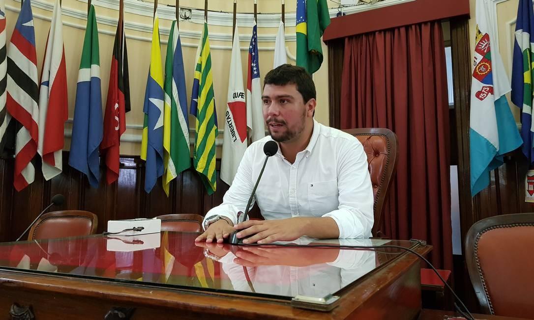 Vereador Bruno Lessa anuncia que vai trocar de partido: sai do PSBD para o DEM Foto: Divulgação