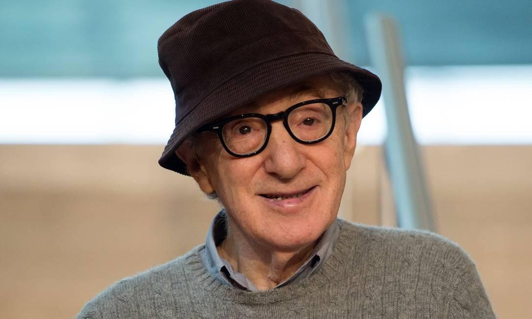 Woody Allen em 2019 Foto: ANDER GILLENEA / AFP