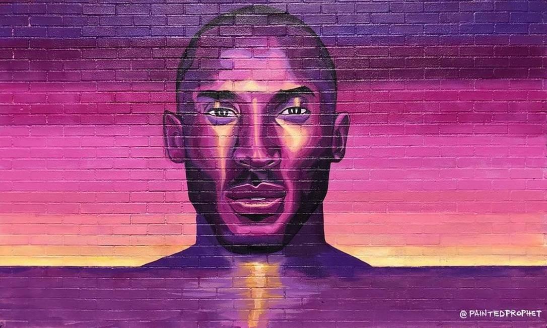 """Energy Never Dies"", mural de Painted Prophet no Sorella Boutique, em Los Angeles Foto: @janelleliubang / Reprodução/Instagram"