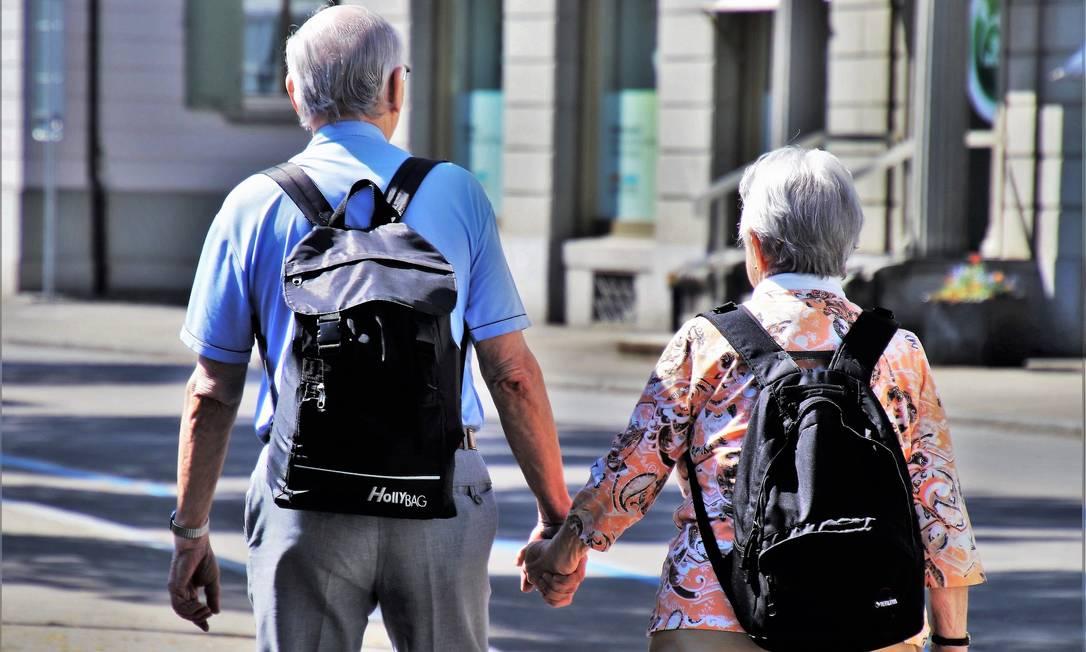 Os casos registrados até agora na China dão um indício claro de que os idosos são a população mais vulnerável Foto: Pixabay