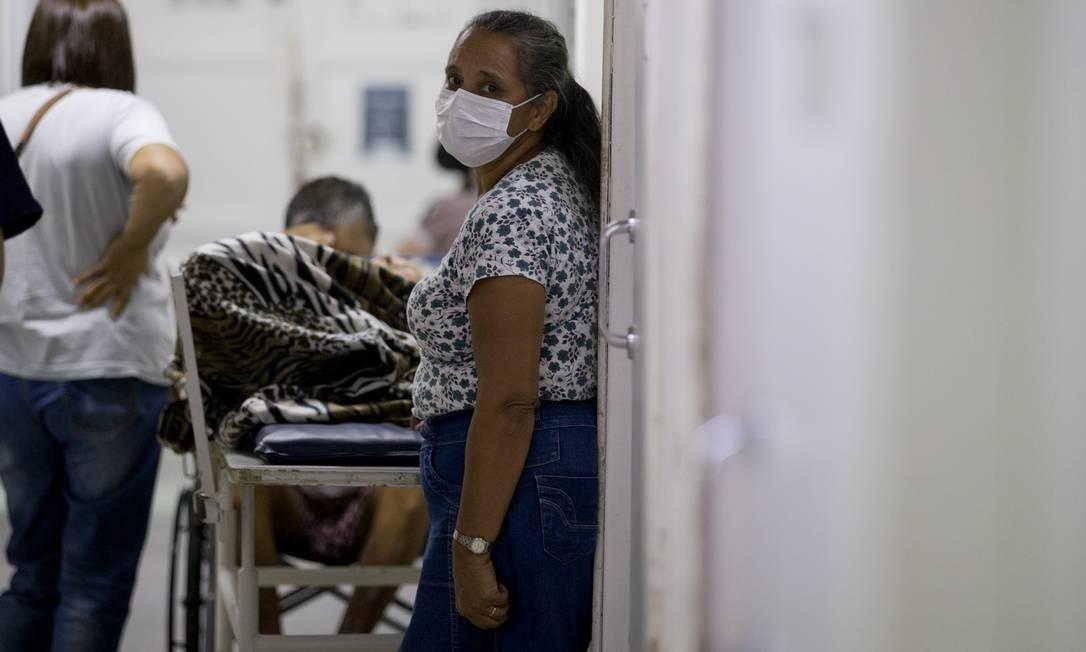 Hospital em Barra Mansa, onde foi confirmado o primeiro caso de Covid-19 no Estado do Rio Foto: Márcia Foletto / Agência O Globo
