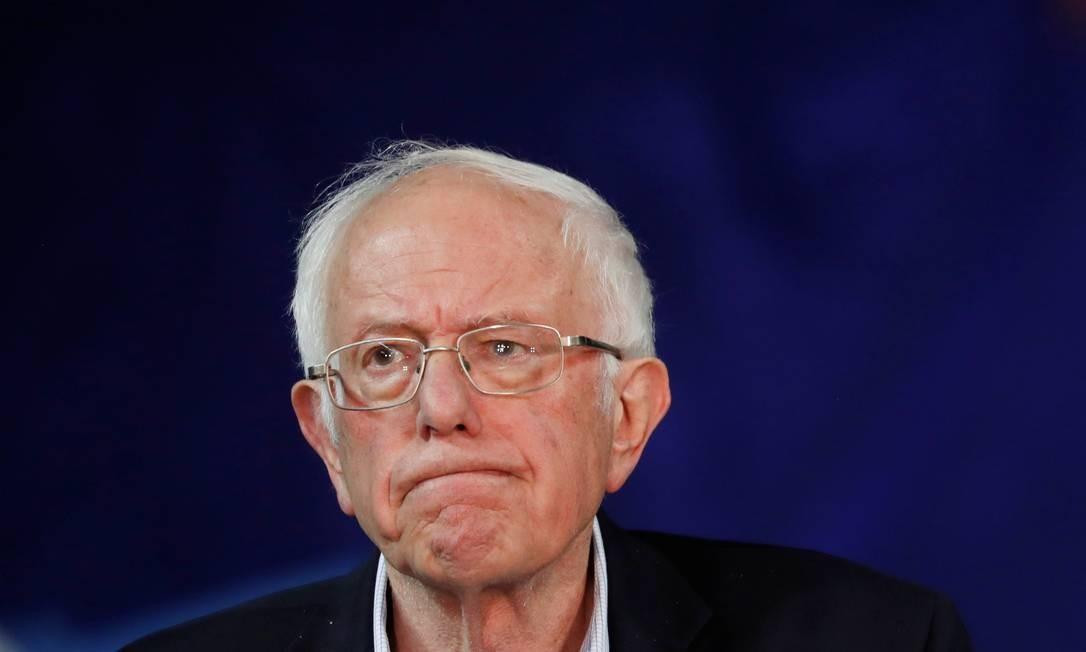 Sanders, que começou a carreira como prefeito de Burlington, em Vermont Foto: LUCAS JACKSON / REUTERS