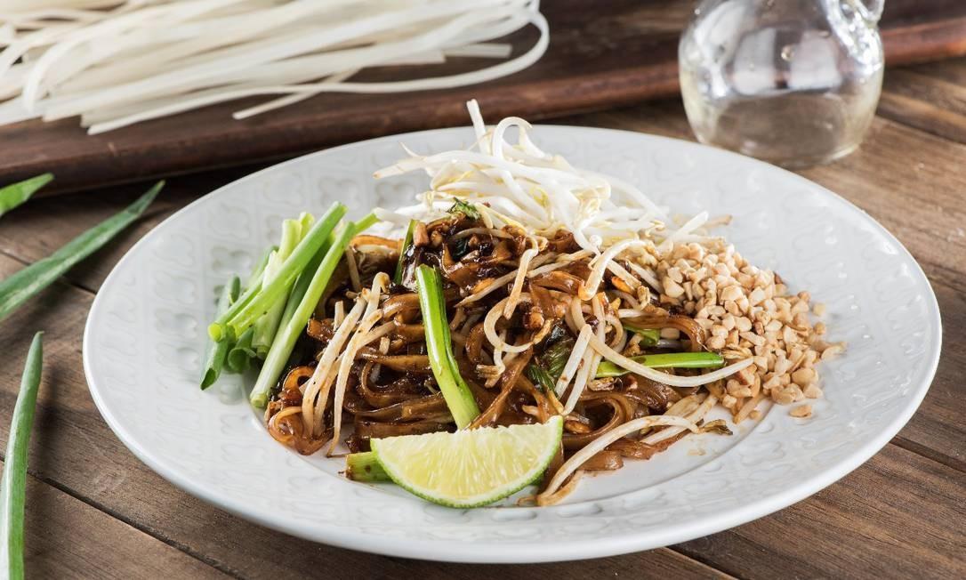 Càm O´n Thai Food: Pad Thai Vegetariano Foto: Divulgação