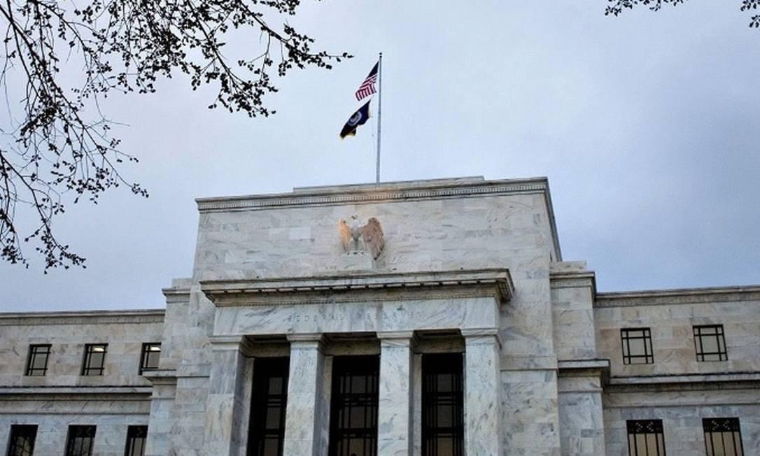Sede do FED, o banco central dos Estados Unidos Foto: Bloomberg