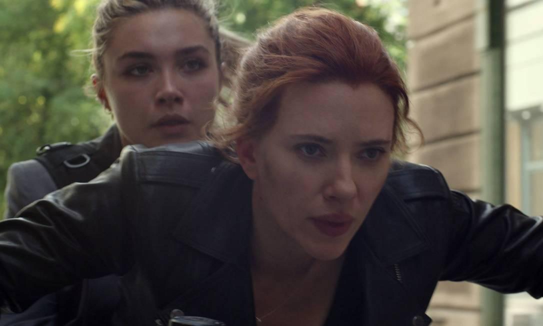 Scarlett Johansson capricha nas cenas de ação em 'Viúva Negra' Foto: Divulgação