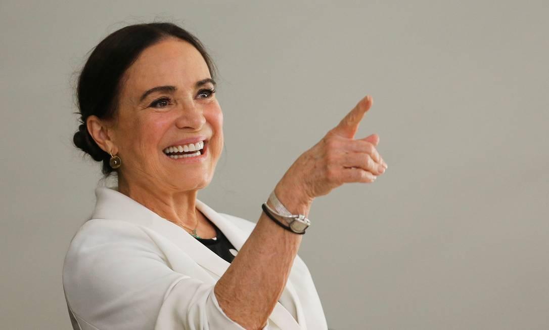 Regina Duarte, secretária especial da Cultura Foto: ADRIANO MACHADO / REUTERS