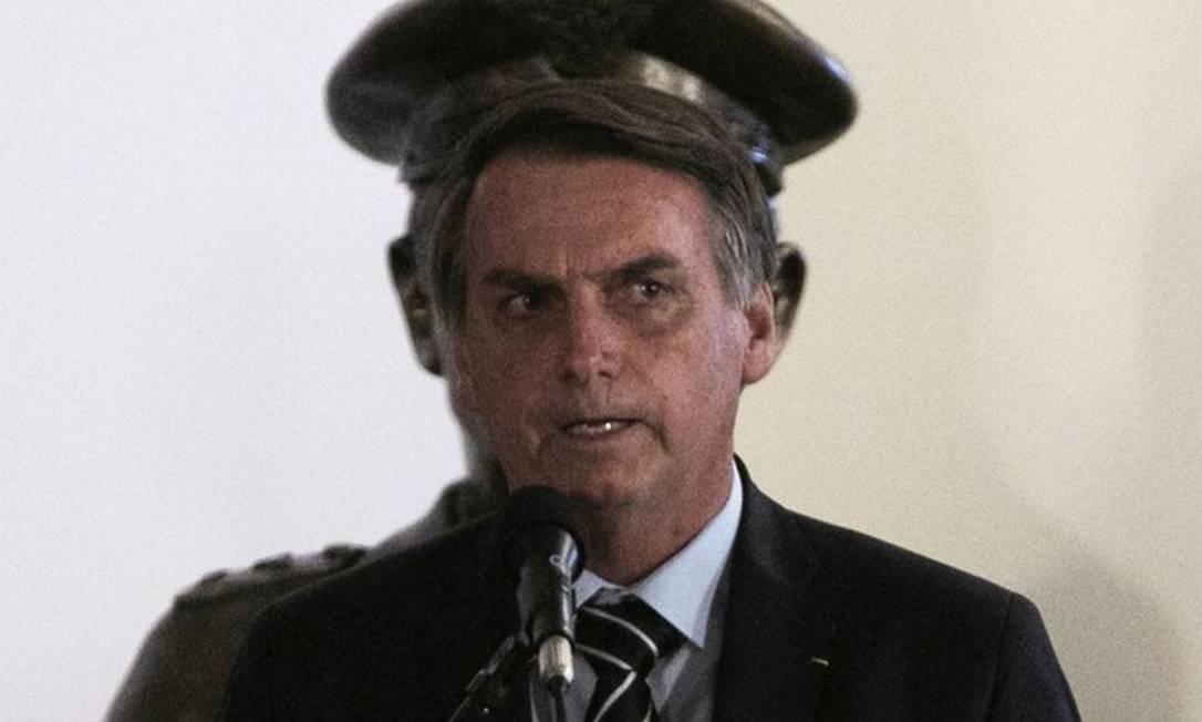 Presidente Jair Bolsonaro Foto: Sérgio Lima/AFP