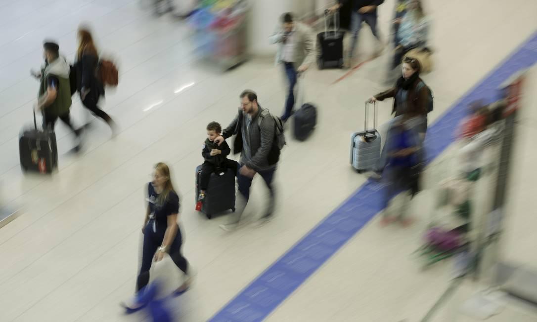Crise da Avianca e cobranças por despacho de bagagem e marcação de assento elevaram número de reclamações contra aéreas Foto: Gabriel de Paiva/Arquivo