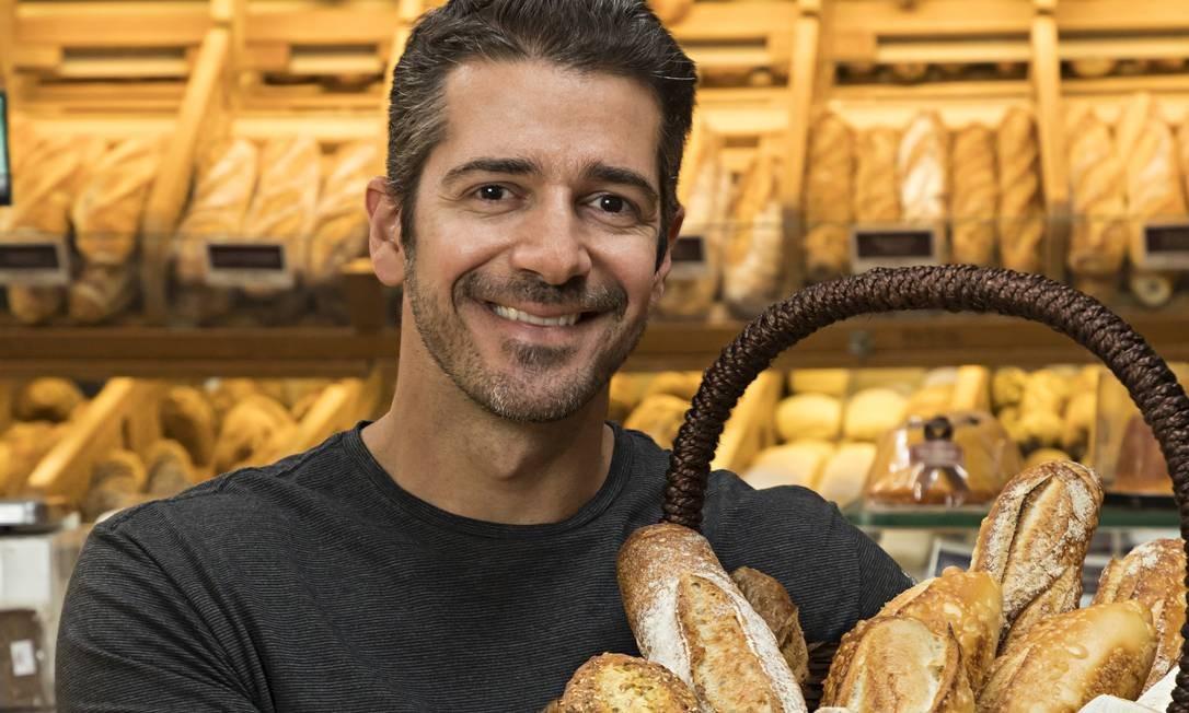Talho Capixaba: Beto Abrantes comanda as fornadas de uma das casas de pães mais conhecidas do Rio Foto: Divulgação/Rodrigo Azevedo
