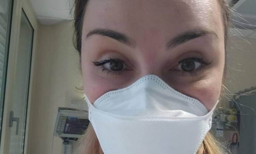 Mariana Dacorégio trabalha como médica na Itália Foto: ARQUIVO PESSOAL/BBC