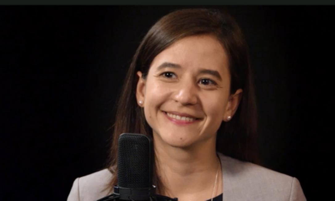 Gabriela Santos, estrategista de mercado global no J.P. Morgan Asset Management Foto: Reprodução