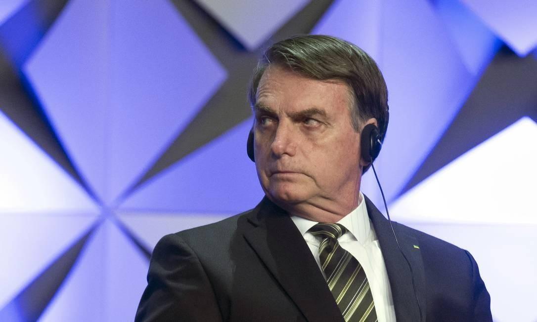 Presidente Jair Bolsonaro Foto: Edilson Dantas/Agência O Globo
