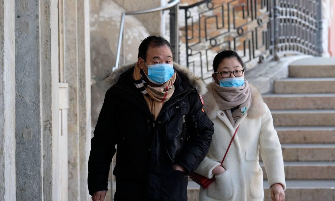 Coreia do Sul relata salto em casos do novo coronavírus após surto em call center. REUTERS/Manuel Silvestri Foto: MANUEL SILVESTRI / REUTERS