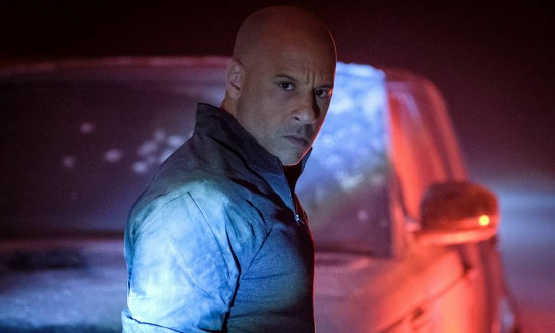"""Vin Diesel em cena do filme """"Bloodshot"""" Foto: Divulgação/Graham Bartholomew"""