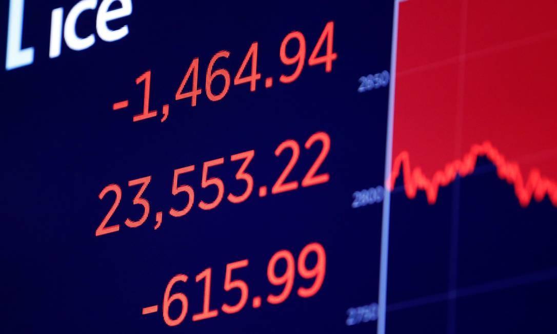 Temor de novas medidas de lockdown nos EUA e na Europa fazem com que Bolsas desabem ensta quarta-feira Foto: Andrew Kelly / Reuters