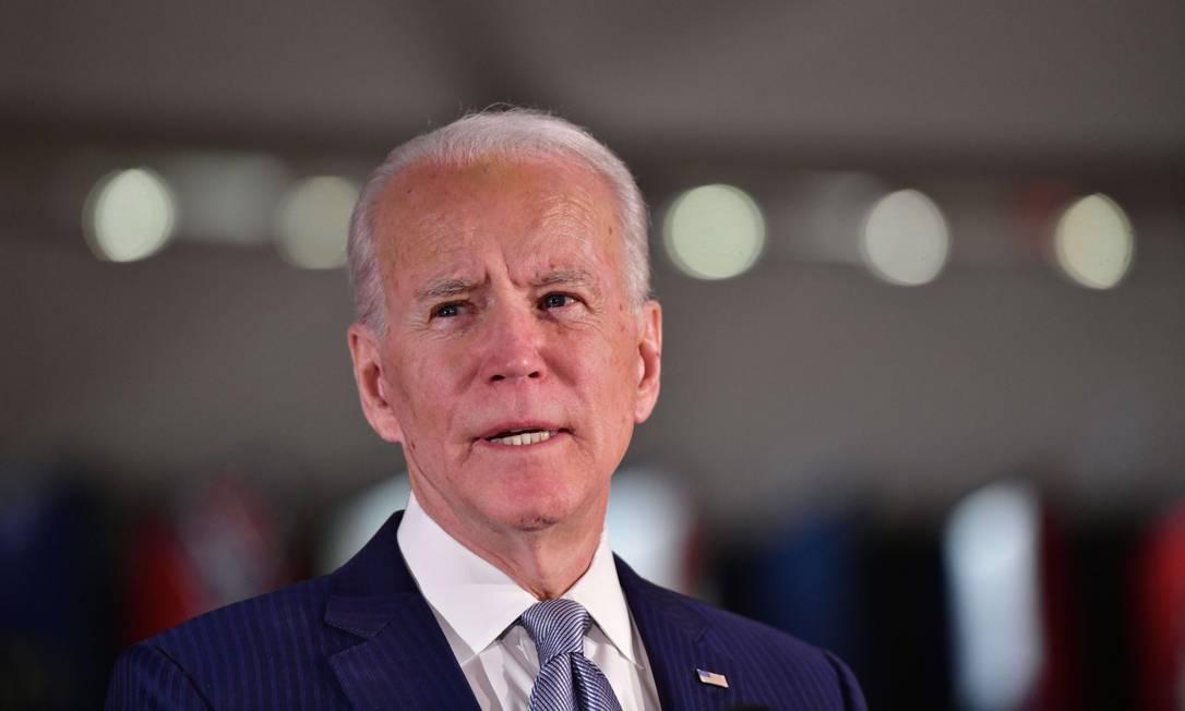 Ex-vice-presidente Joe Biden Foto: Mark Makela / AFP