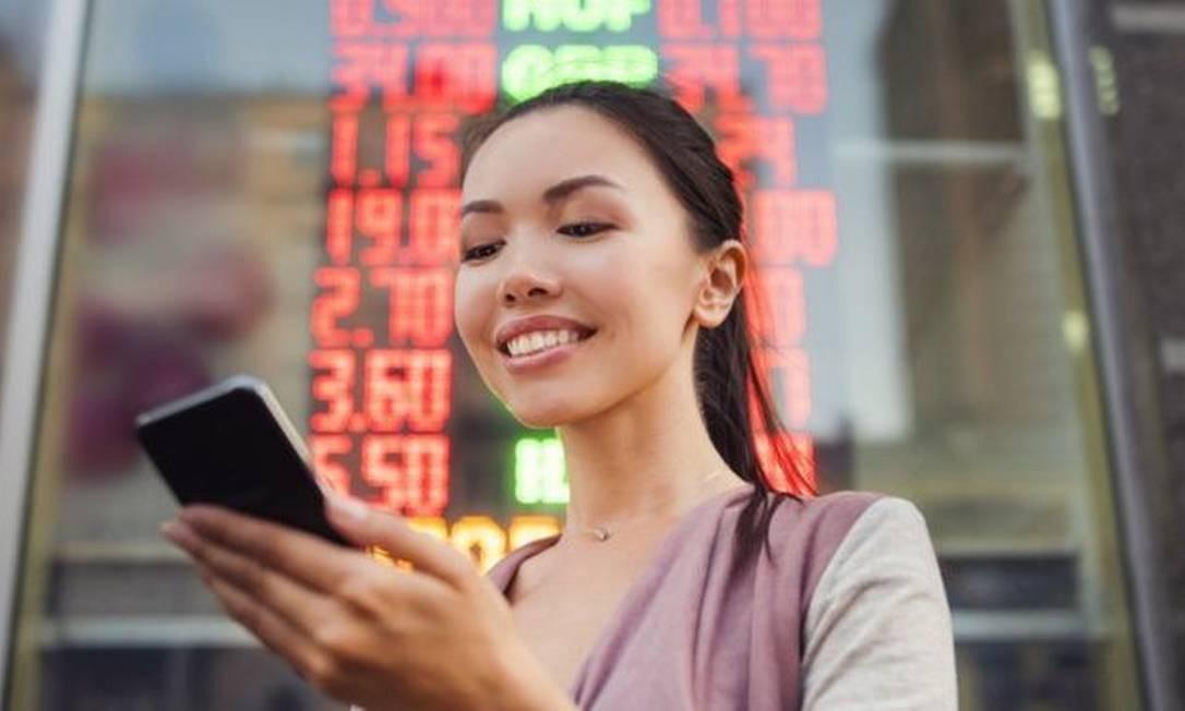 Nesta semana, as bolsas de valores se comportaram como uma montanha-russa. Foto: Getty Images