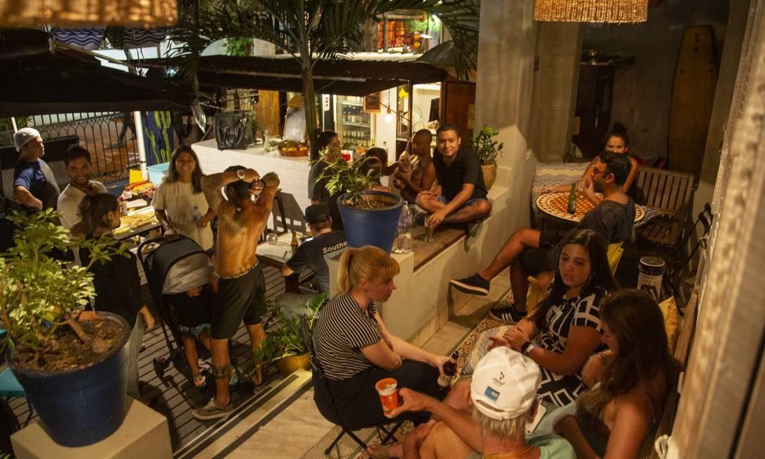 Beach House Hostel em Ipanema Foto: Agência O Globo/Gabriel Monteiro