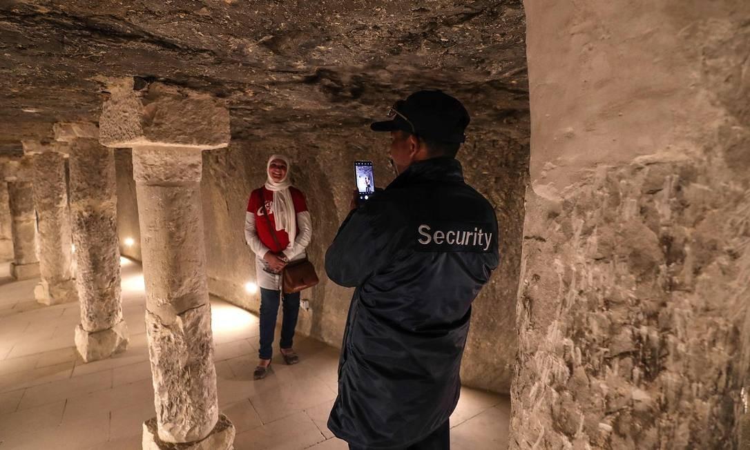 A pirâmide pode ser visitada todos os dias Foto: Mohamed el-Shahed / AFP