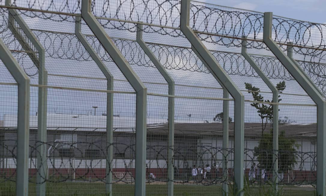 O Complexo Penitenciário da Papuda no Distrito Federal, onde as visitas aos presos estão suspensas Foto: Jorge William / Agência O Globo
