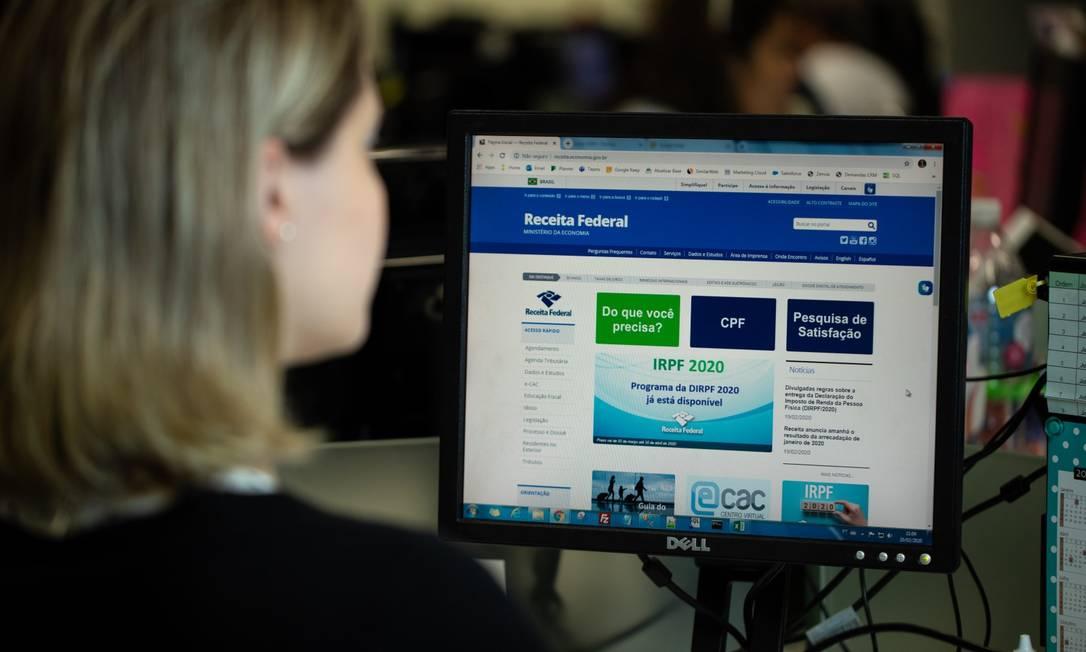 Medida faz parte das ações do Ministério da Economia para lidar com a crise do coronavírus Foto: Brenno Carvalho / Agência O Globo