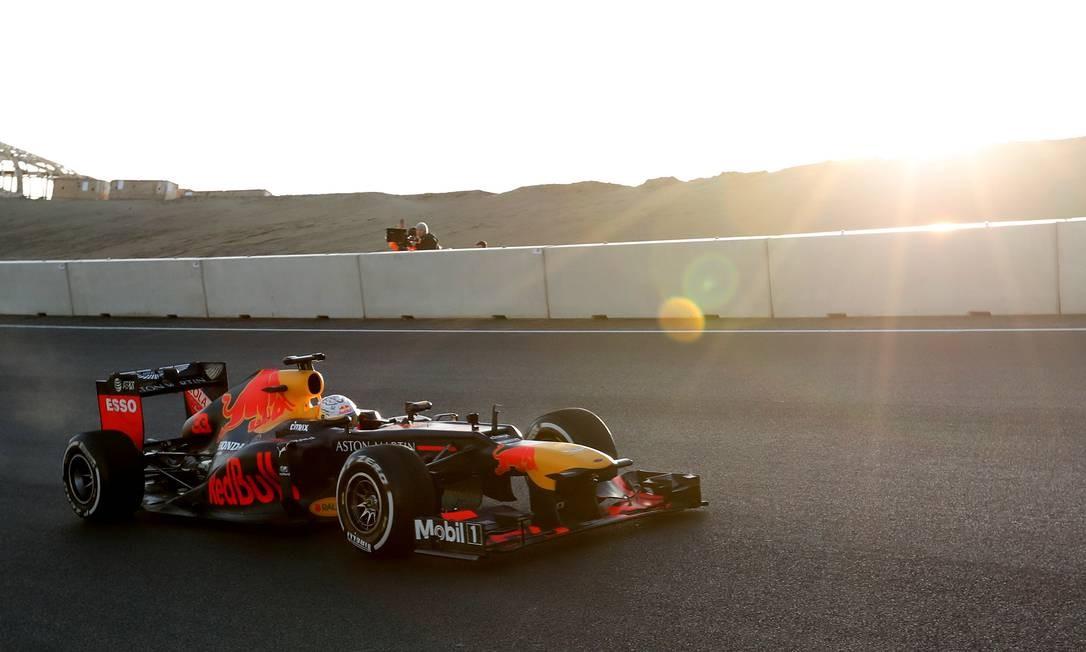 A Fórmula 1 já perdeu cerca de US$ 5 bilhões com os cancelamentos e adiamentos Foto: EVA PLEVIER / REUTERS